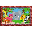 Click here for more Cutie Jungle Rug by Flagship Carpets by Worthington