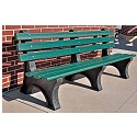 Central Park Outdoor Benches by Jayhawk Plastics