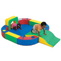 Click here for more Playring with Tunnel and Slide by The Children's Factory by Worthington
