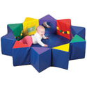 Multi-Activity Pentagon 3 Piece Set by The Children's Factory