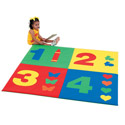 Click here for more 1-2-3-4 Mat by Children's Factory by Worthington