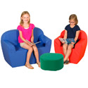 "12"" Club Furniture Soft Seating Set by The Children's Factory"