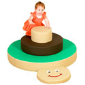 Click here for more Stacking Turtle Climber by Children's Factory by Worthington