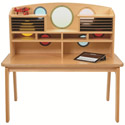 Click here for more Porthole Writing Desk by Whitney Plus by Worthington