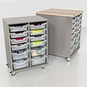 Click here for more Chameleon Hideaway Storage Cart by CEF by Worthington