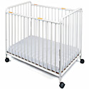 Click here for more Chelsea Compact Steel Cribs by Foundations by Worthington