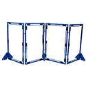 Click here for more Rectangle Clear PlayPanel Dividers Set of 4 by Children's Factory by Worthington