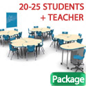 Click here for more Classroom X Complete Classroom Package Sets by Mooreco by Worthington