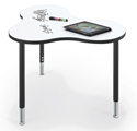 Click here for more Cloud 9 Collaborative Station with Dry Erase Top by Mooreco by Worthington