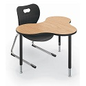 Cloud 9 Collaborative Student Desk by Balt