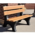 Colonial Outdoor Benches by Jayhawk Plastics