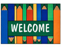 Click here for more Colorful Pencils Welcome Rug by Carpets for Kids by Worthington
