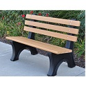 Comfort Park Avenue Outdoor Benches by Jayhawk Plastics