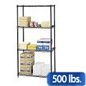Click here for more Commercial Wire Shelving by Safco Products by Worthington