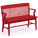 Click here for more Americana Oak Benches by Community by Worthington