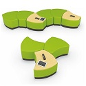 Configurable Soft Seating by Mooreco