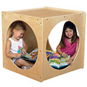 Contender Series Reading Cube by Wood Designs