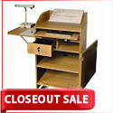Counsel Media Lectern by Woodware