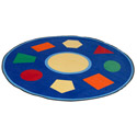Click here for more Shape Sorter Carpet by Learning Carpets by Worthington