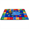 Click here for more Alphabet Cars Carpet by Learning Carpets by Worthington