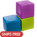 Session Cube Plastic Stool Seating by Tenjam
