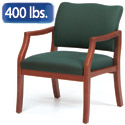 Franklin Oversized Guest Chair by Lesro