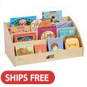 Click here for more Birch Desk Top Book Display by ECR4Kids by Worthington