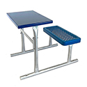 Click here for more Outdoor Desks for Social Distancing by Diversified Metal Fabricators by Worthington