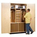 Click here for more Drafting Supply Storage Cabinet by Diversified Woodcrafts by Worthington