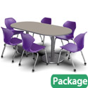Dual Base Table & Chair Packages by Marco Group
