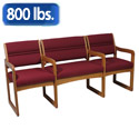 Dakota Wave Bariatric Couch by Wooden Mallet