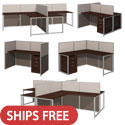 Click here for more Easy Office Cubicle Stations by Bush Business Furniture by Worthington