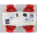 Echo Series Meeting Room Tables by Haskell