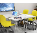 Echo Series Dry Erase Rectangle Training Tables by Haskell