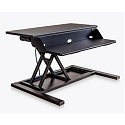 Click here for more Electric Level Up Pro 32 Standing Desk Converter by Luxor by Worthington