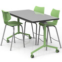 Click here for more Elemental Nest + Fold Adjustable Tables by Smith System by Worthington