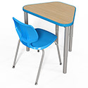 Click here for more Elemental Huddle Student Desk by Smith System by Worthington