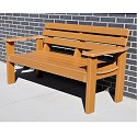 Elizabeth Outdoor Benches by Frog Furnishings