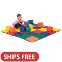 Click here for more Patchwork Mat and Toddler Blocks by ECR4Kids by Worthington