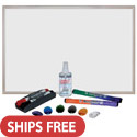 Click here for more MessageStor® Magnetic Dry-Erase Set by ECR4Kids by Worthington