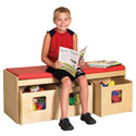 Click here for more See & Store Bench by ECR4Kids by Worthington