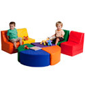 Click here for more SoftZone 8 Piece Sectional by FDP by Worthington