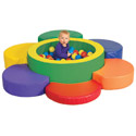 Click here for more Rainbow Petal Climber with Ball Pool by ECR4Kids by Worthington