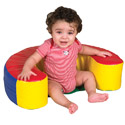Click here for more SoftZone Sit and Support Infant Ring by ECR4Kids by Worthington