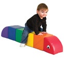 Click here for more Sit and Play Rainbow Caterpillar by ECR4Kids by Worthington