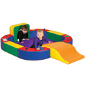 Click here for more Discovery Center with Tunnel & Slide by ECR4Kids by Worthington