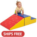 Click here for more SoftZone Little Me Climb & Slide by ECR4Kids by Worthington