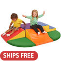 Click here for more SoftZone Little Me Climb & Slide Wall Climber by ECR4Kids by Worthington
