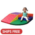 Click here for more SoftZone Tiny Twisting Climber by ECR4Kids by Worthington