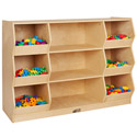 Click here for more Birch Organize & Play Storage Cabinet by ECR4Kids by Worthington